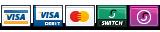 Visa, Visa Debit, Mastercard, Switch, Solo